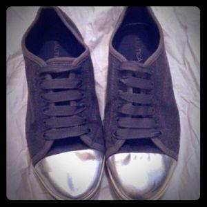 3/$35- Cute Silver-Toed Nautica Shoes